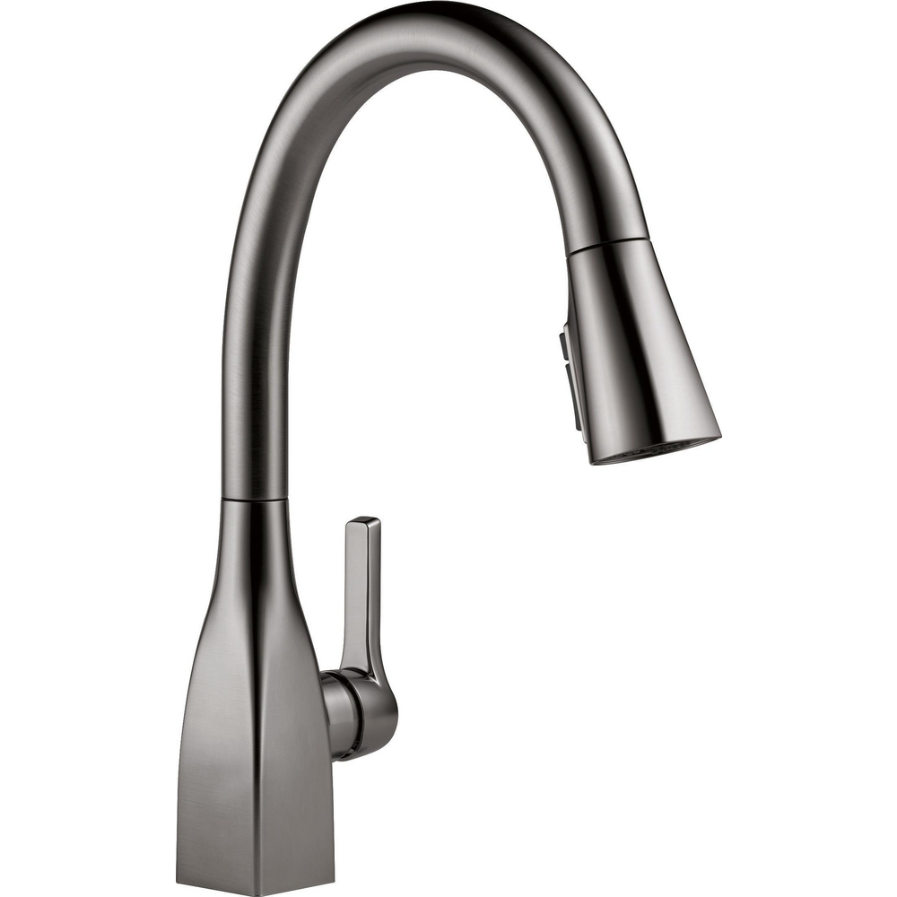 Single Handle Pull-Down Kitchen Faucet with ShieldSpray Technology