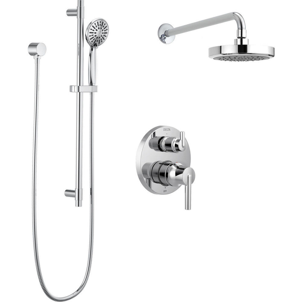 Monitor 14 Series Contemporary Round Shower Kit